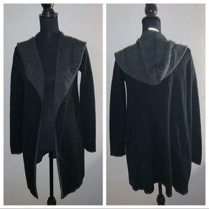 BNCI Blanc Noir Hooded Cardigan S